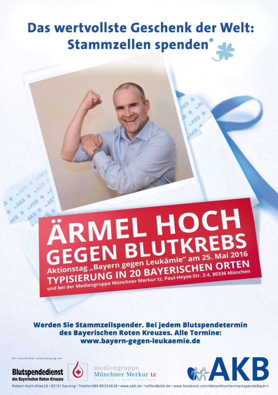 Aktionstag Bayern gegen Leukämie